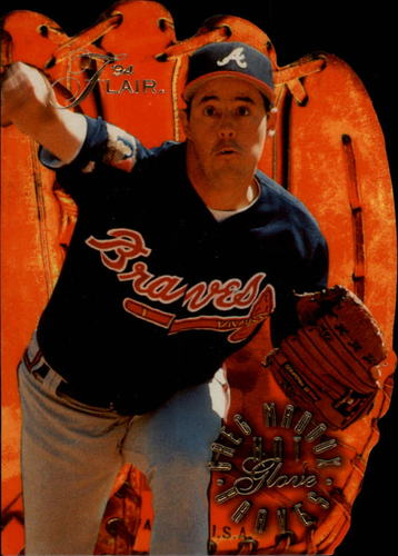Photo of 1994 Flair Hot Gloves #5 Greg Maddux