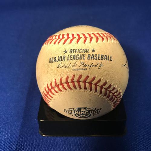 Photo of UMPS CARE AUCTION: Washington Nationals Opening Day Baseball Signed by Umpire Crew