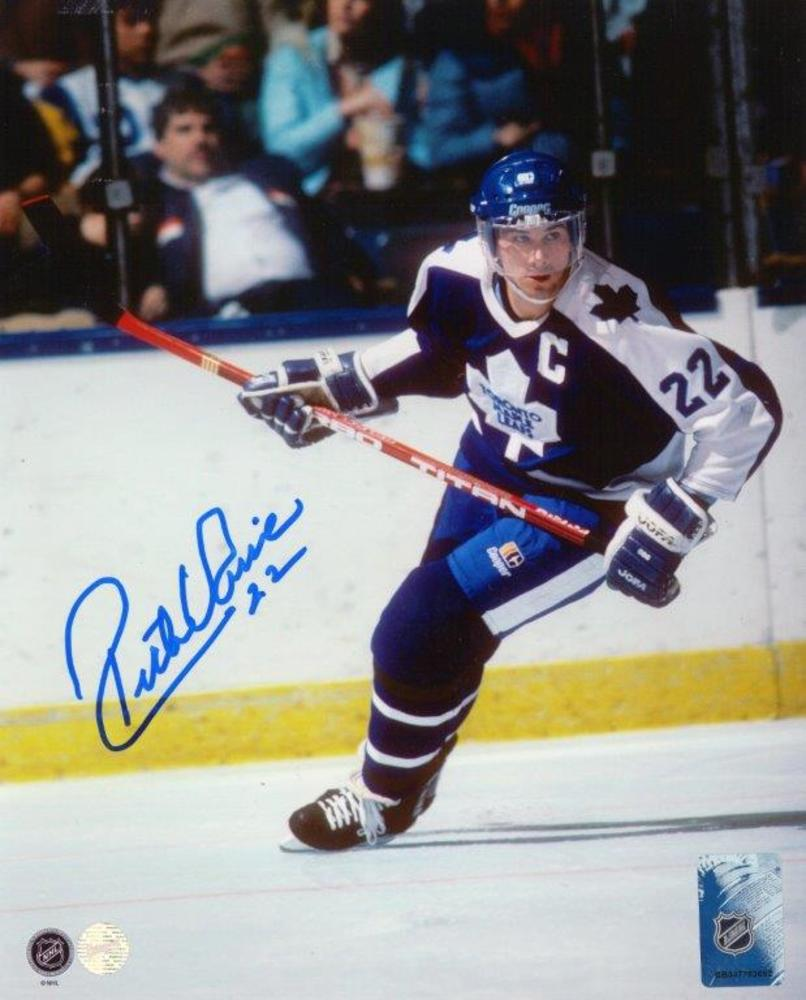 Rick Vaive - Signed 8x10 Unframed Maple Leafs