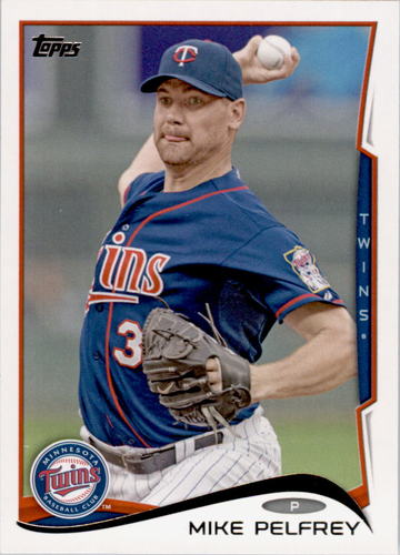 Photo of 2014 Topps #441 Mike Pelfrey