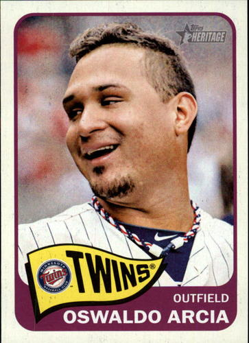 Photo of 2014 Topps Heritage #180 Oswaldo Arcia