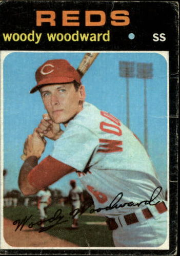 Photo of 1971 Topps #496 Woody Woodward