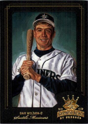 Photo of 2003 Diamond Kings Gold Foil #57 Dan Wilson
