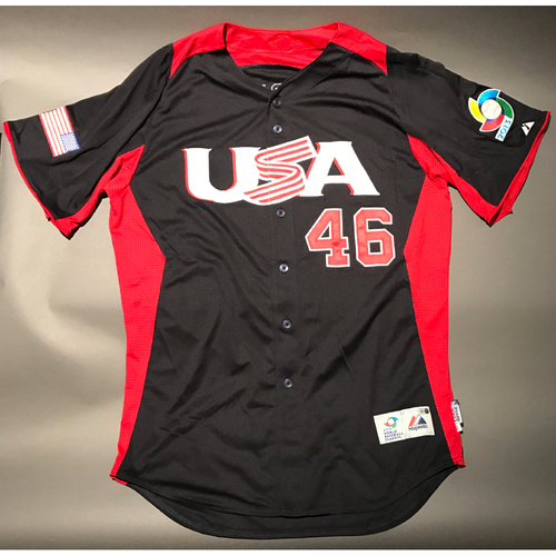 2013 World Baseball Classic Jersey - USA Jersey, Craig Kimbrel #46