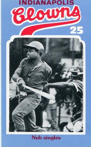 Photo of 1976 Laughlin Indianapolis Clowns #25 Steve(Nub) Anderson/Nub singles