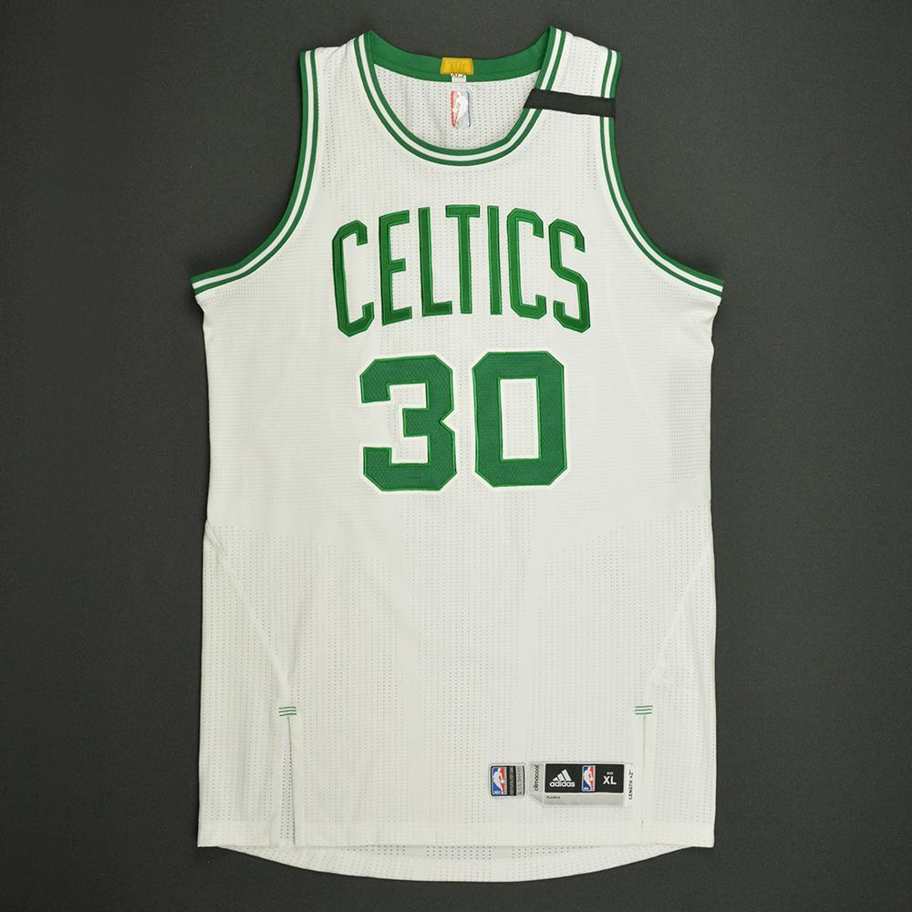 Gerald Green - Boston Celtics - White Playoffs Game-Worn Jersey - 2016-17 Season