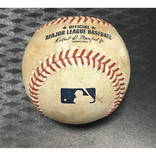 Game-Used Baseball - AJ Pollock Double & Jake Lamb 2-RBI Double vs. Brad Peacock