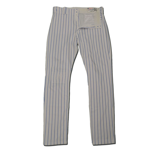 Photo of Dominic Smith #74 - Team Issued White Pinstripe Pants - 2017 Season