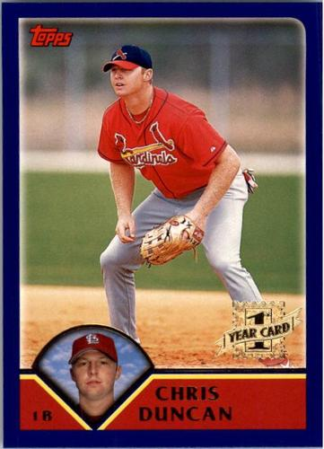 Photo of 2003 Topps #292 Chris Duncan FY RC