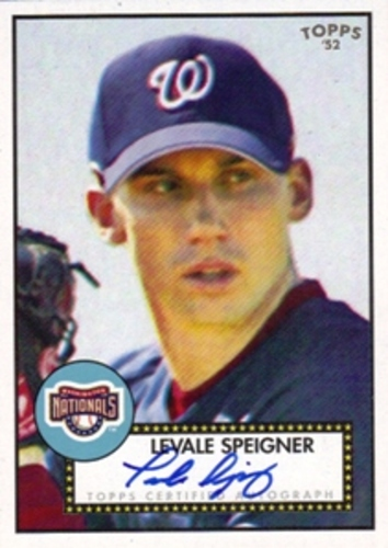 Photo of 2007 Topps 52 Signatures #LS Levale Speigner F