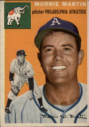 Photo of 1954 Topps #168 Morrie Martin