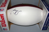 NFL - EAGLES DARREN SPROLES SIGNED PANEL BALL
