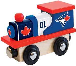 Toronto Blue Jays Toy Wooden Train by Masterpieces CO