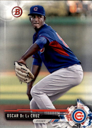 Photo of 2017 Bowman Prospects #BP72 Oscar De La Cruz
