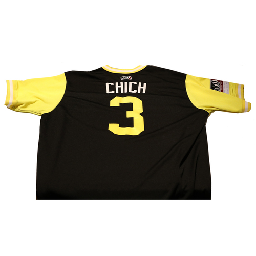 "Photo of Sean ""Chich"" Rodriguez Pittsburgh Pirates Game-Used Players Weekend Jersey"