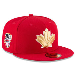 Toronto Blue Jays Authentic Collection 2018 Canada Day Fitted Game Cap by New Era