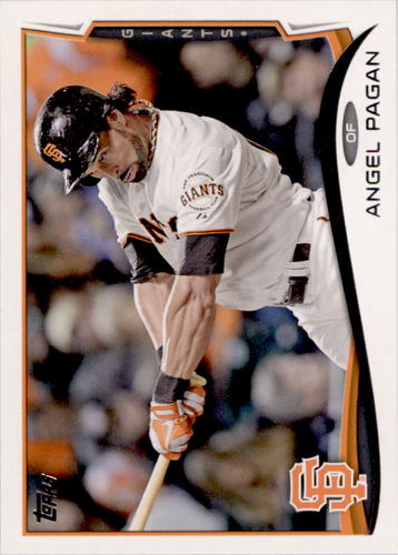 Photo of 2014 Topps #442 Angel Pagan