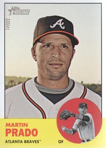Photo of 2012 Topps Heritage #298 Martin Prado