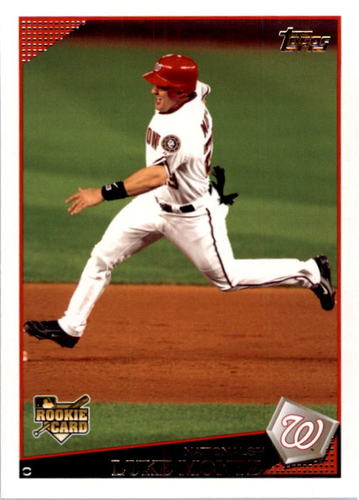 Photo of 2009 Topps #362 Luke Montz RC