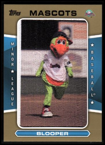 Photo of 2013 Topps Pro Debut Mascots Gold #BL Blooper