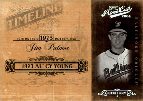 Photo of 2004 Prime Cuts II Timeline Century Silver #46 Jim Palmer