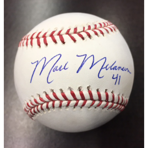Photo of Giants Community Fund: Mark Melancon Autographed Baseball