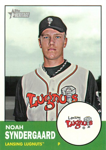 Photo of 2012 Topps Heritage Minors #170 Noah Syndergaard