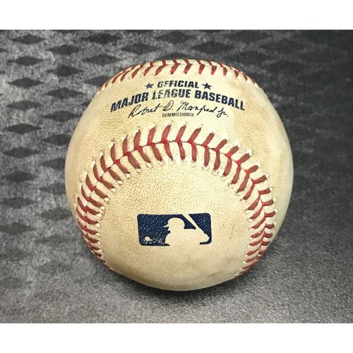 Game-Used Baseball - AJ Pollock RBI Single & Paul Goldschmidt Single vs. Hector Rondon