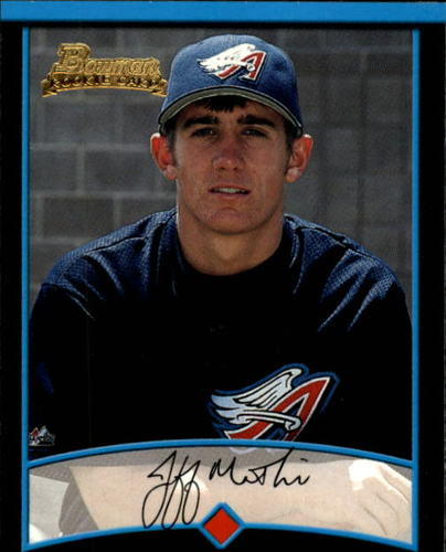 Photo of 2001 Bowman Draft #BDP107 Jeff Mathis Rookie Card -- D'backs post-season