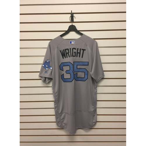 Steven Wright Team-Issued Father's Day Road Jersey