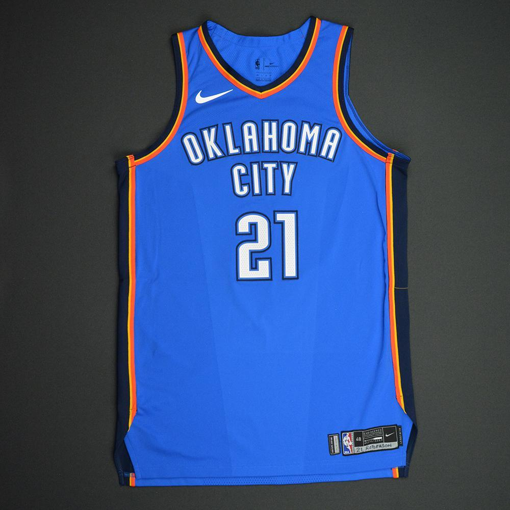 Andre Roberson - Oklahoma City Thunder - NBA Mexico City Games 2017 Game-Worn Jersey