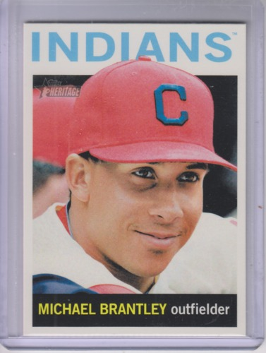 Photo of 2013 Topps Heritage #436 Michael Brantley SP
