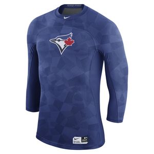 Toronto Blue Jays Authentic Collection 3/4 Hypercool T-Shirt by Nike
