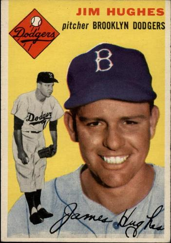 Photo of 1954 Topps #169 Jim Hughes