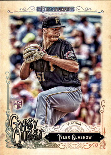 Photo of 2017 Topps Gypsy Queen #276 Tyler Glasnow RC