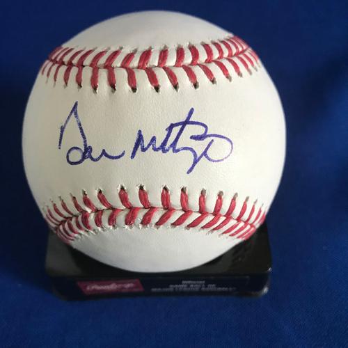 Photo of UMPS CARE AUCTION: Don Mattingly Signed Baseball