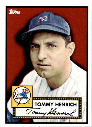 Photo of 2010 Yankees Topps 27 World Championships #7 Tommy Henrich 1952 Topps