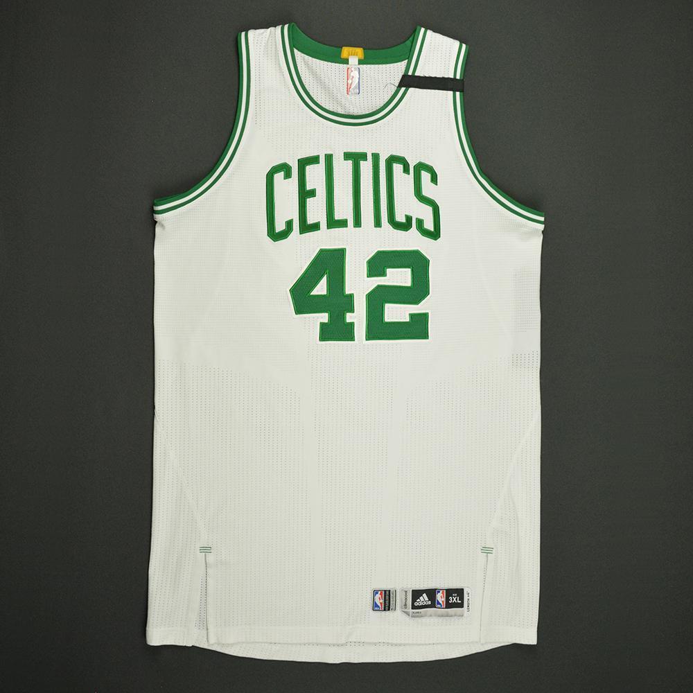 Al Horford - Boston Celtics - White Playoffs Game-Worn Jersey - 2016-17 Season