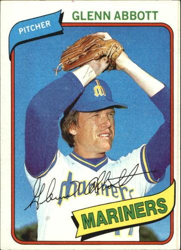 Photo of 1980 Topps #166 Glenn Abbott