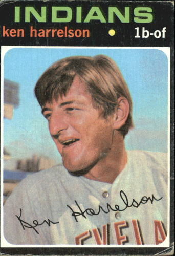 Photo of 1971 Topps #510 Ken Harrelson