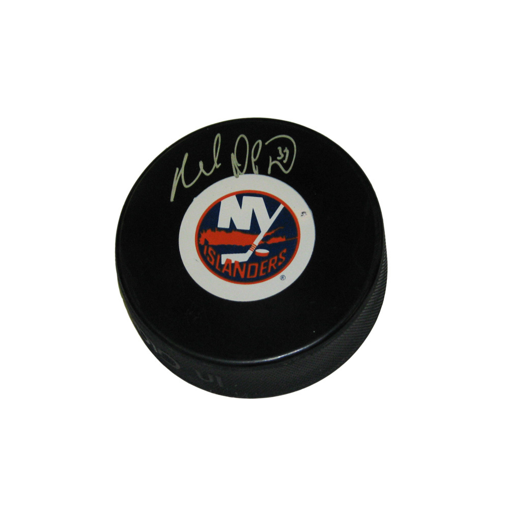 RICK DIPIETRO Signed New York Islanders Puck