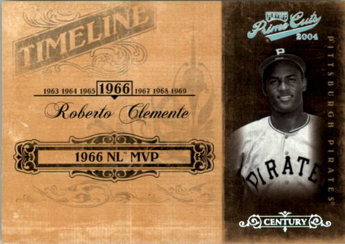 Photo of 2004 Prime Cuts II Timeline Century Silver #79 Roberto Clemente