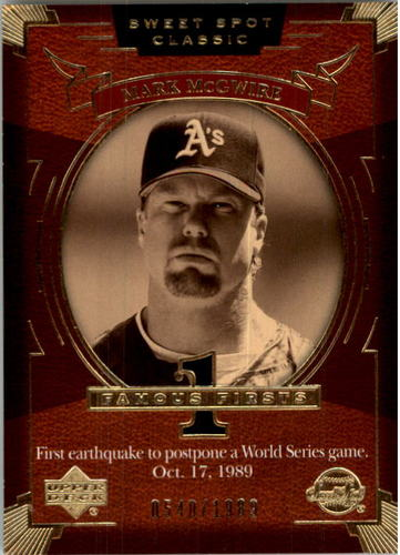 Photo of 2004 Sweet Spot Classic #129 Mark McGwire FF/1989