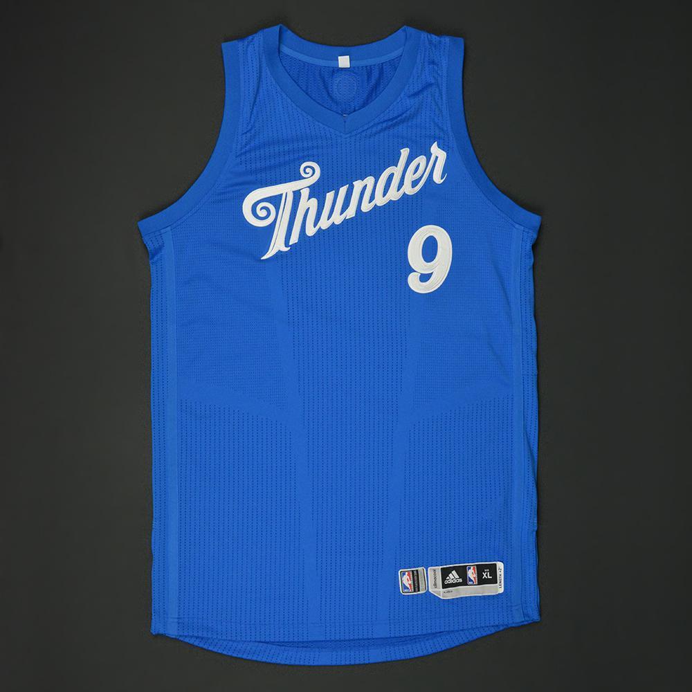 Jerami Grant - Oklahoma City Thunder - NBA Christmas Day \'16 - Game ...