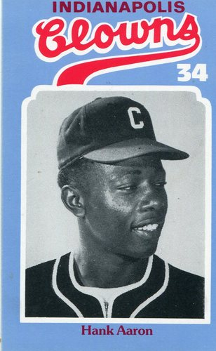 Photo of 1976 Laughlin Indianapolis Clowns #34 Hank Aaron