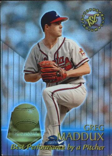 Photo of 1996 Stadium Club TSC Awards #7 Greg Maddux