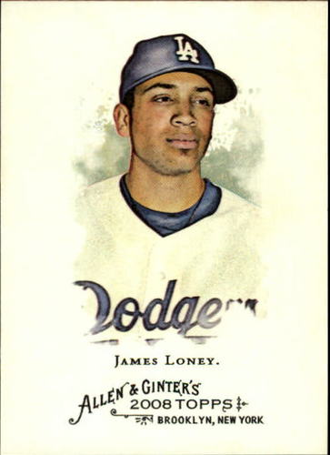 Photo of 2008 Topps Allen and Ginter #18 James Loney