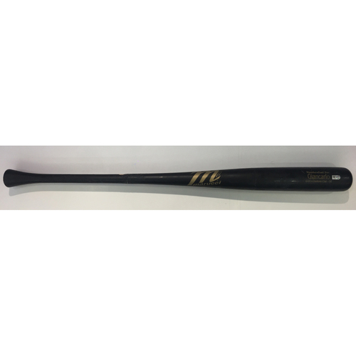 Photo of Giancarlo Stanton Game-Used Cracked Bat