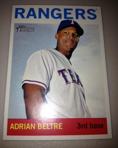 Photo of 2013 Topps Heritage #444 Adrian Beltre SP