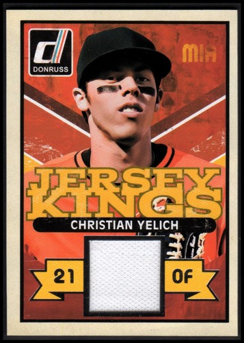 Photo of 2014 Donruss Jersey Kings #40 Christian Yelich